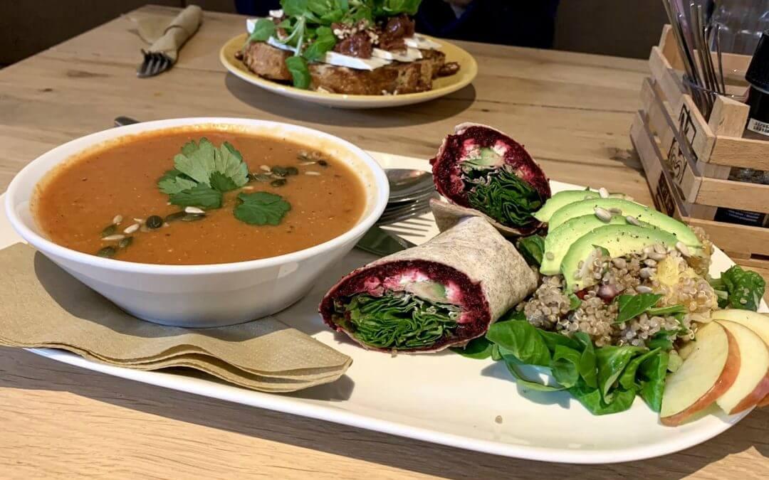 HartBiet: vegetarisch lunchcafé begint cateringbedrijf!