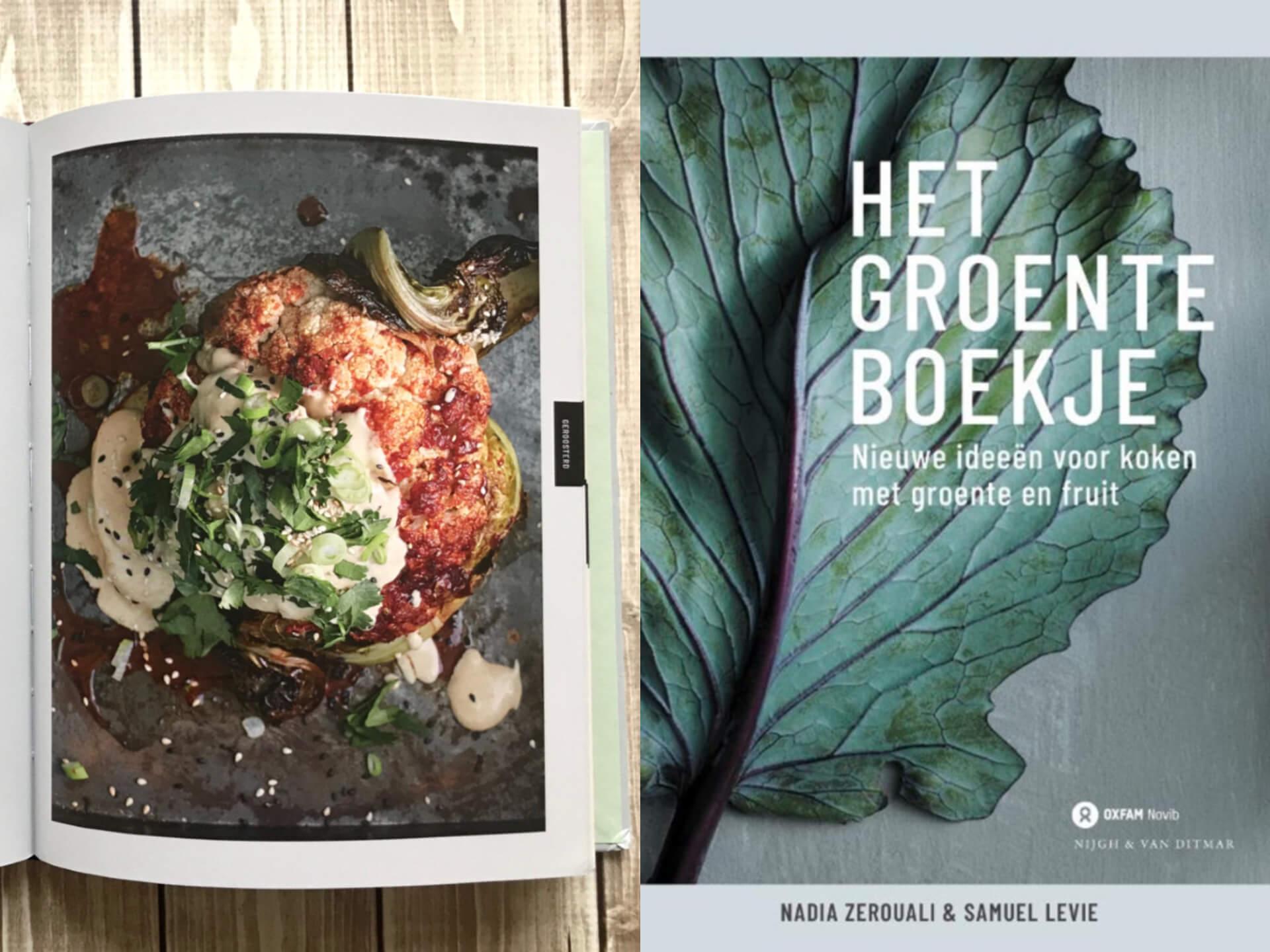 Kookboek: Het groente boekje