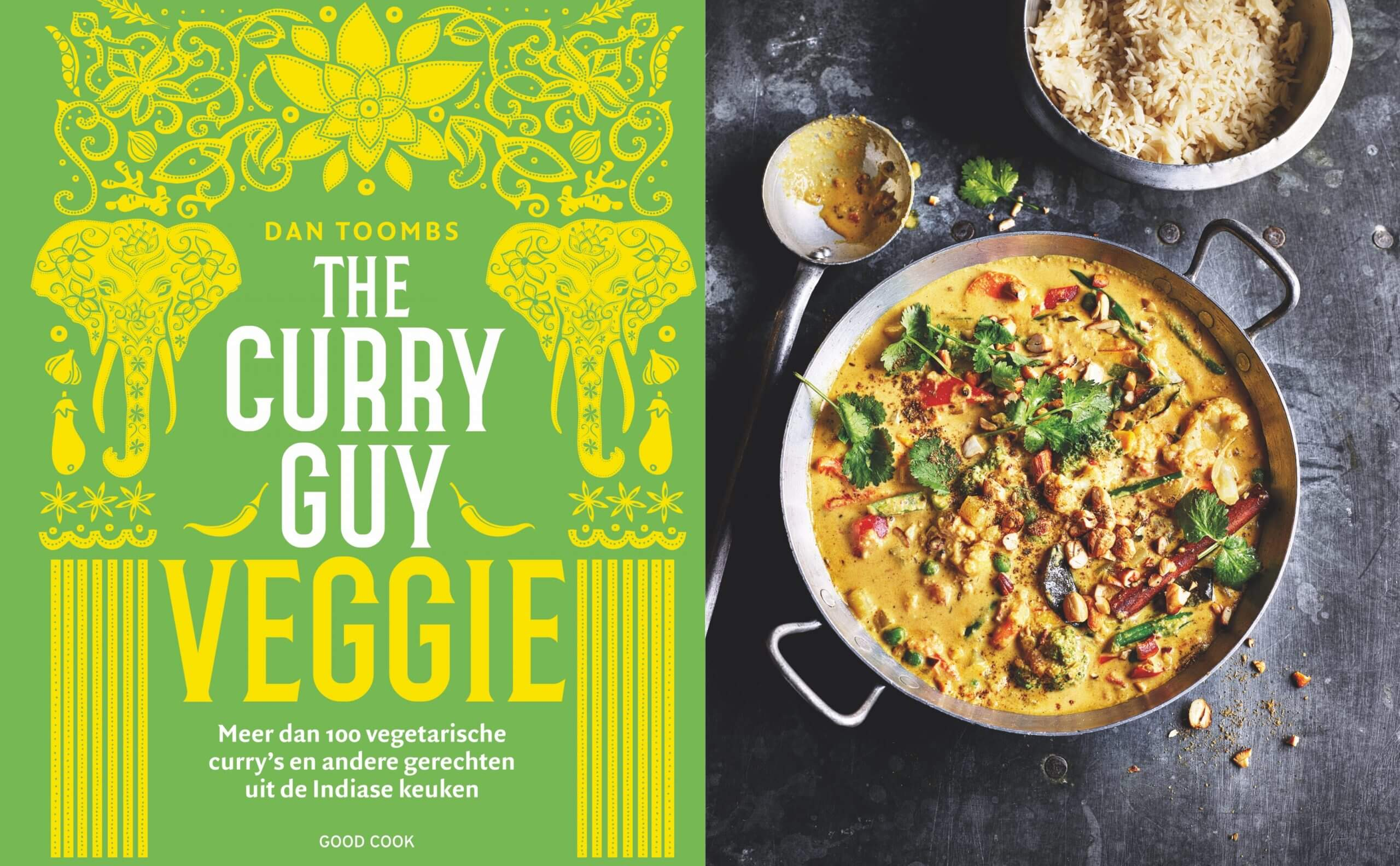 Kookboek review: The Curry Guy Veggie van Dan Toombs