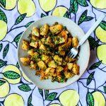 De Libanese keuken: geroosterde aardappeltjes met verse kruiden