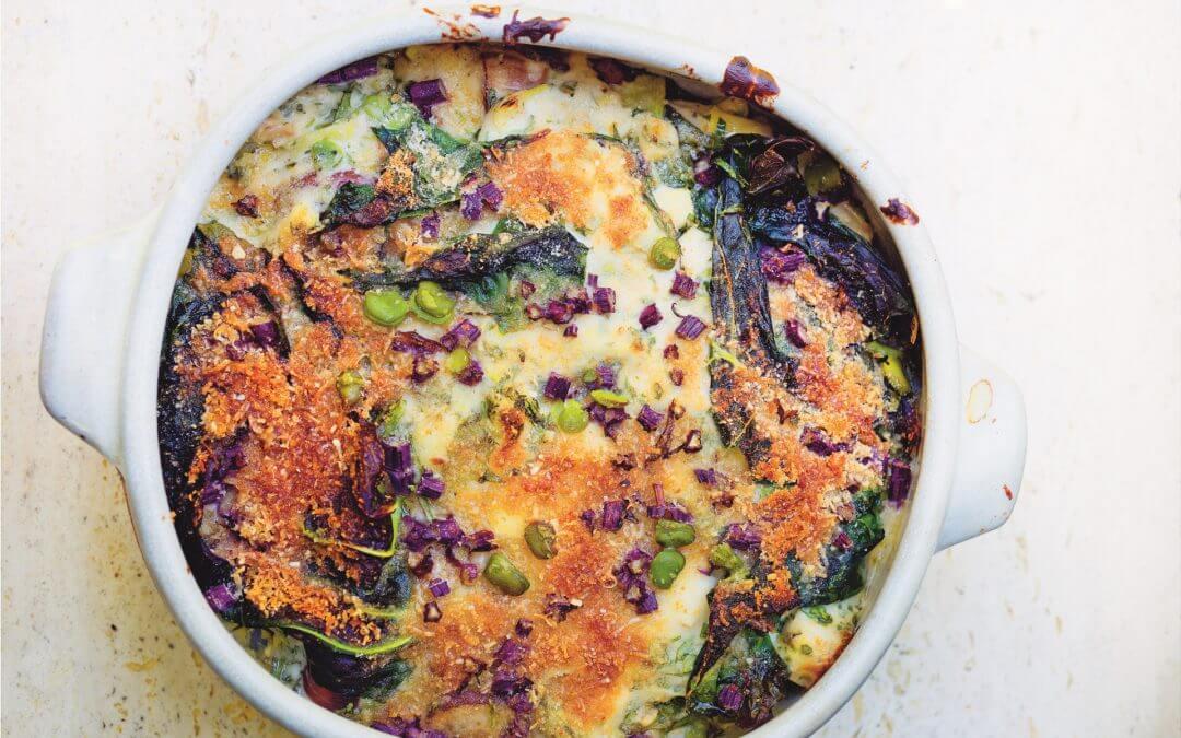 Greenfeast – lente, zomer: lasagne met voorjaarsgroenten