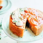 Sinner Saturday: gestoomde cake met bloedsinaasappel en rozemarijn