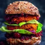 Vegabijbel: pompoen-pecanburger