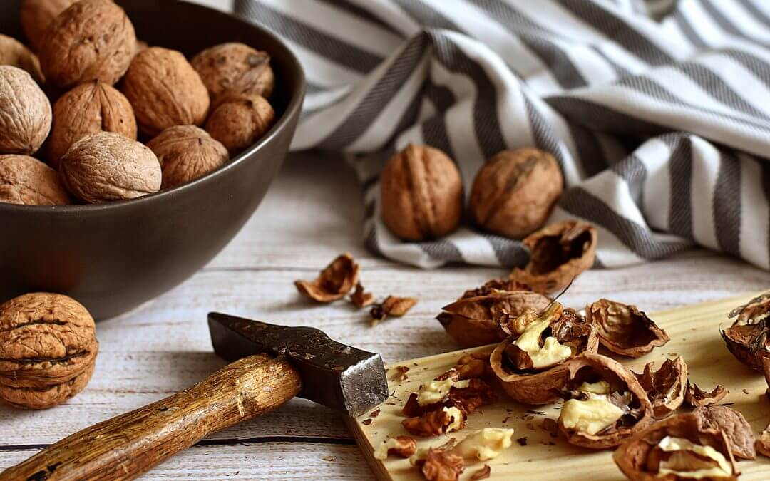 Plantaardige vervanger voor vlees: noten