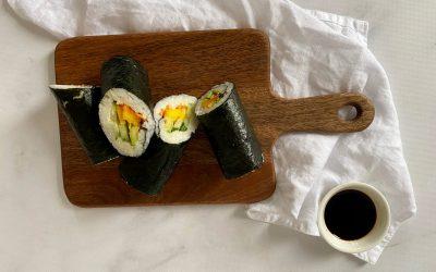NWZV: sushi burrito