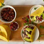 NWZV: taco's met linzen, avocado en salsa