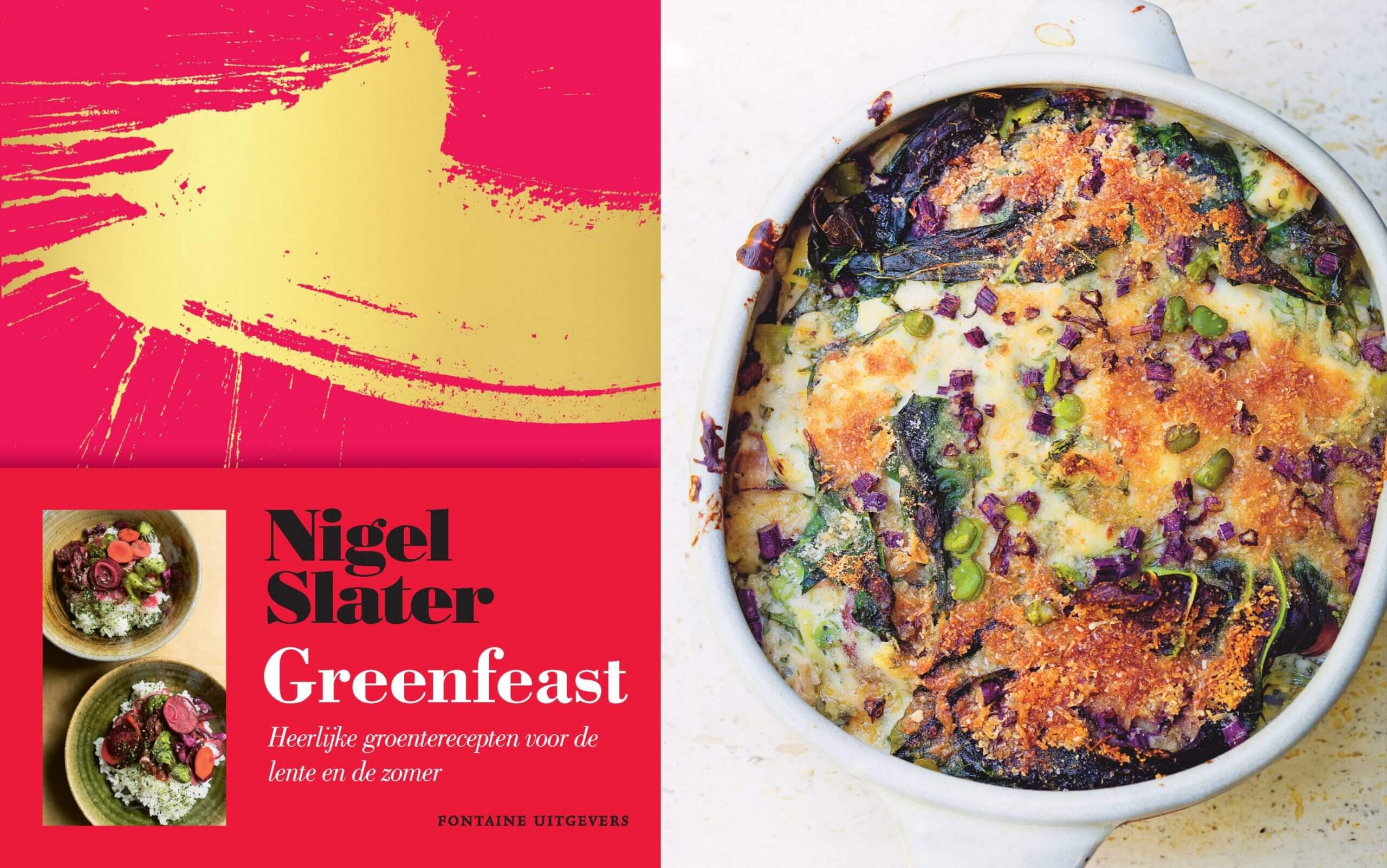 Kookboek review: Greenfeast - lente en zomer van Nigel Slater