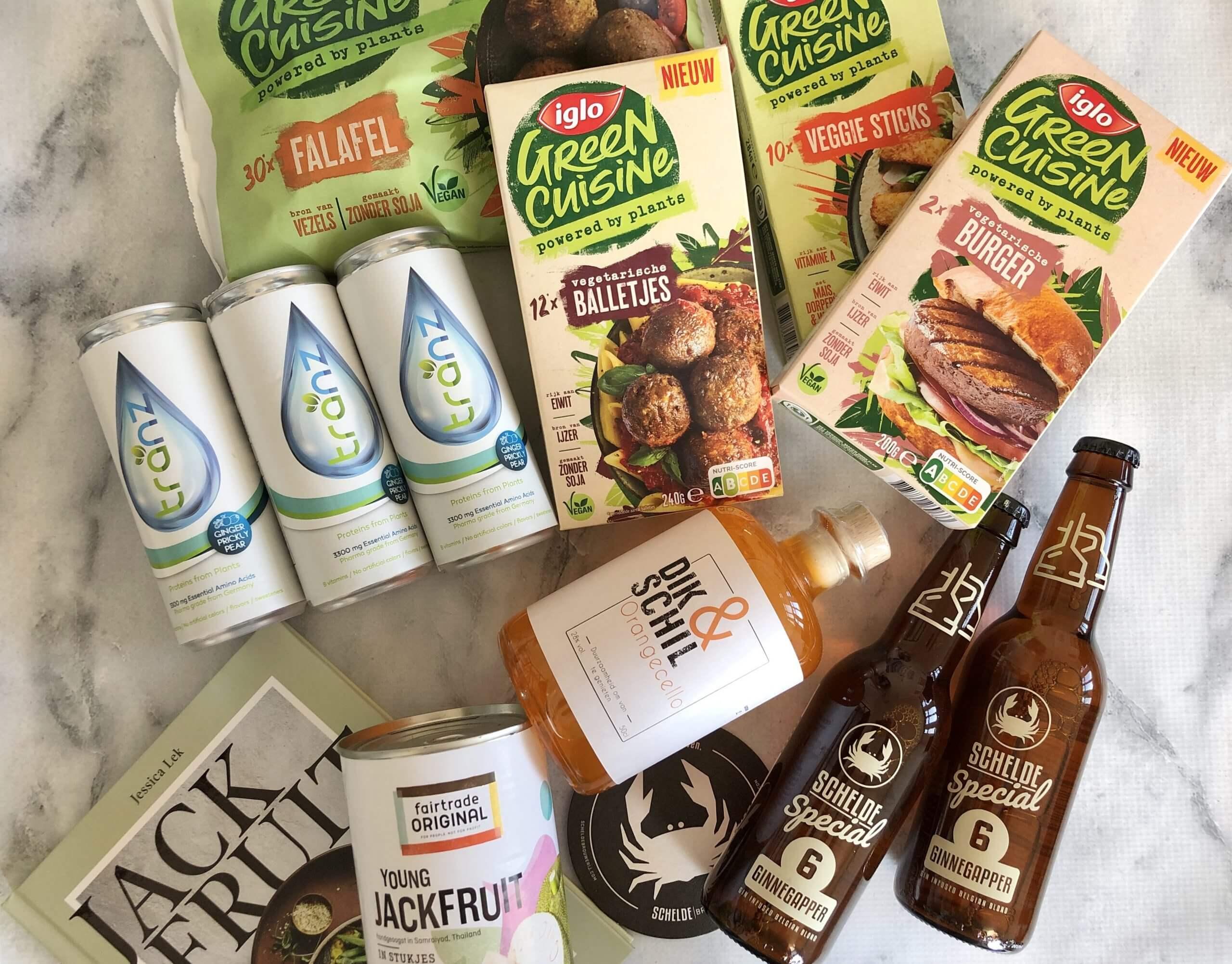 Nieuwe vegetarische producten #65