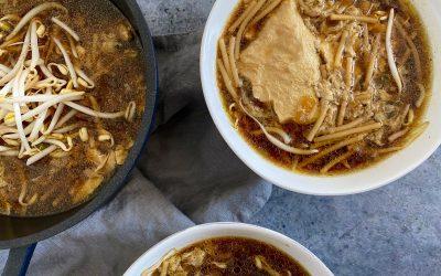 De Indonesische keuken: Sop telor (eierensoep)