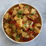 De Indonesische keuken: Atjar Ananas (zoetzuur van ananas)