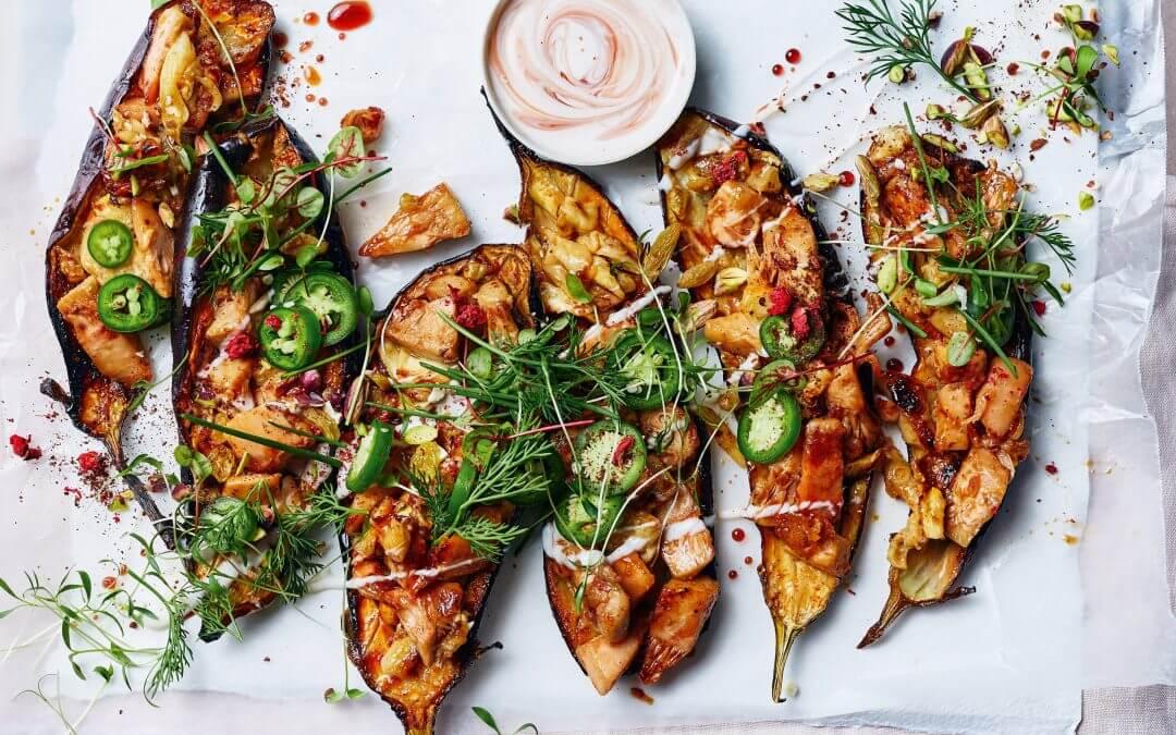 Top 5: recepten met aubergine