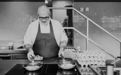 VESSEL KITCHEN & BAR's homemade piccalilly van chef Ricardo van Ede