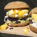 Vegan sushibowl burger
