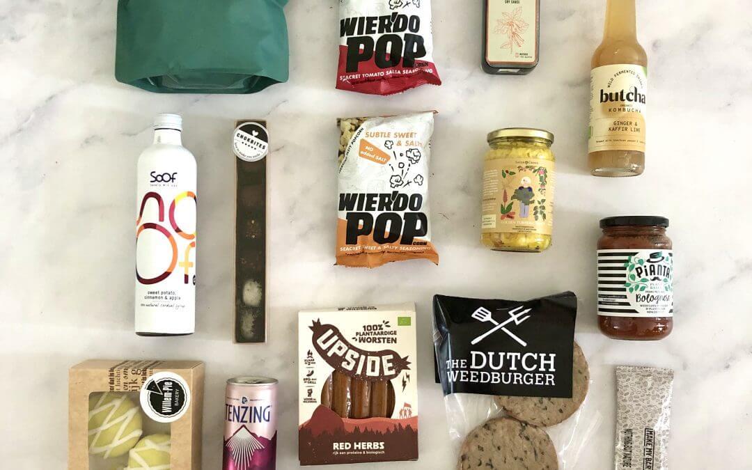 Nieuwe vegetarische ontdekkingen: de verrassingsbox editie