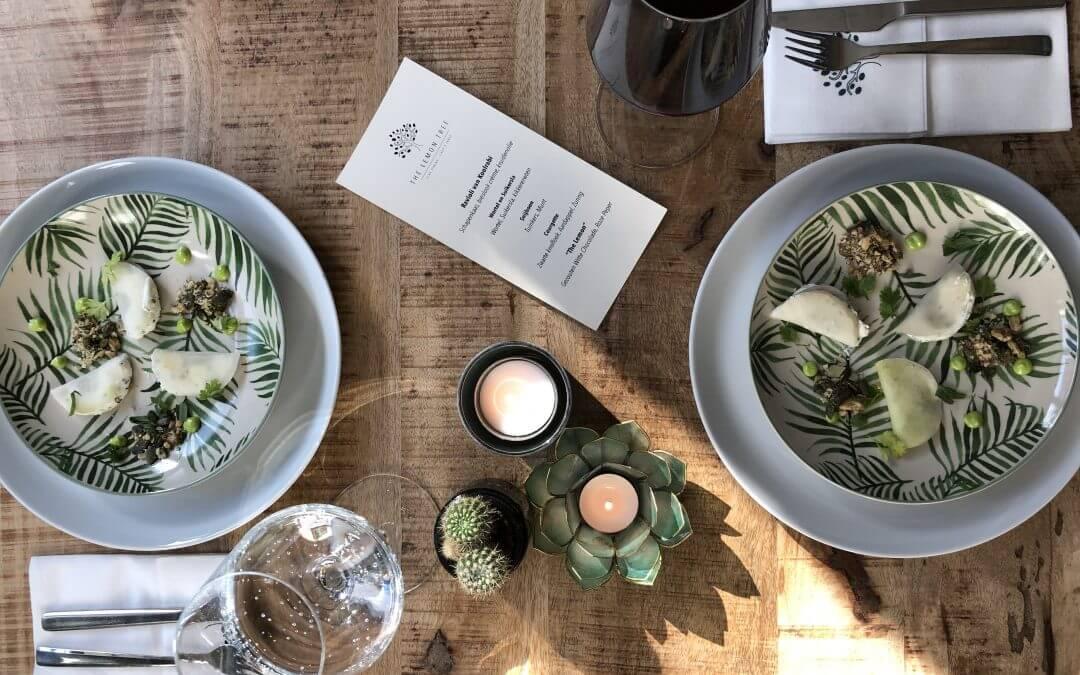 The Lemon Tree: fine dining @home