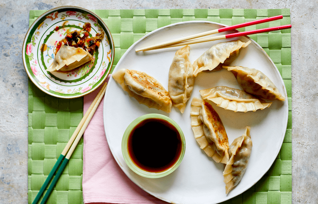 Chinese Takeaway Veggie: Potstickers (dumplings)