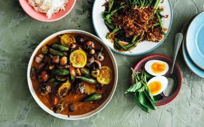 De Thaise keuken: auberginecurry