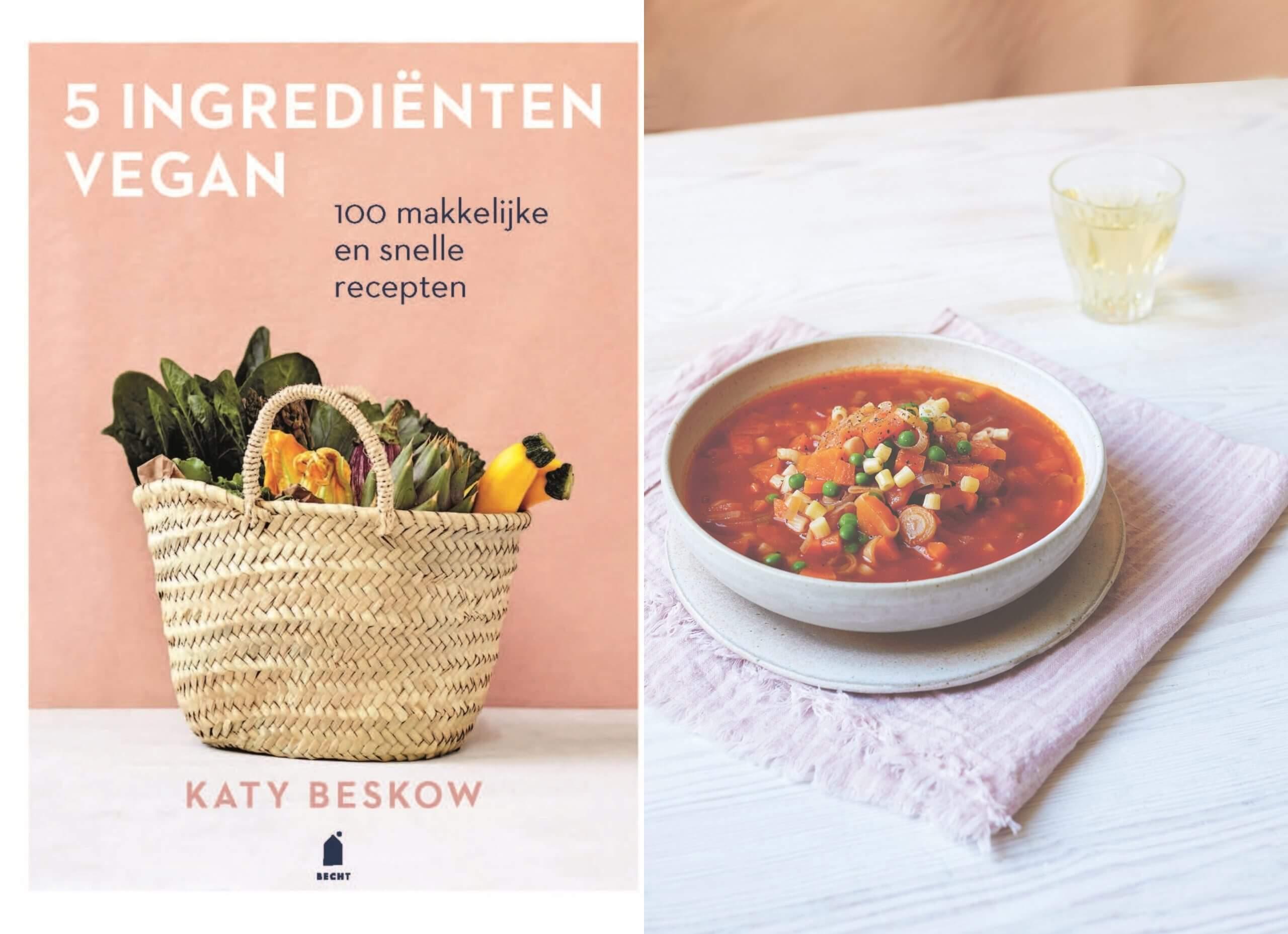 Review: 5 ingrediënten vegan van Katy Beskow
