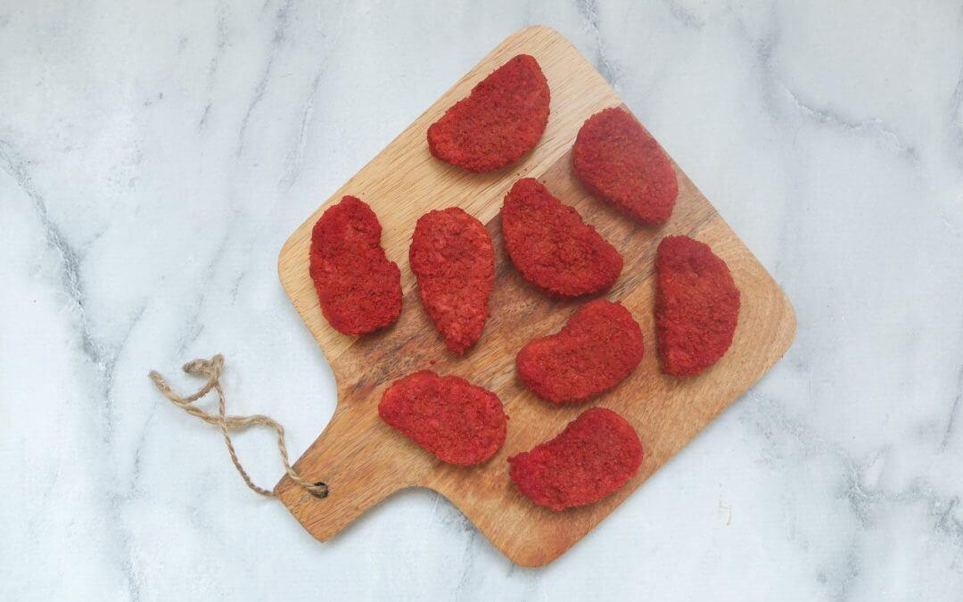 Vleesvervanger getest: Garden Gourmet veggie nuggets tomaat & paprika