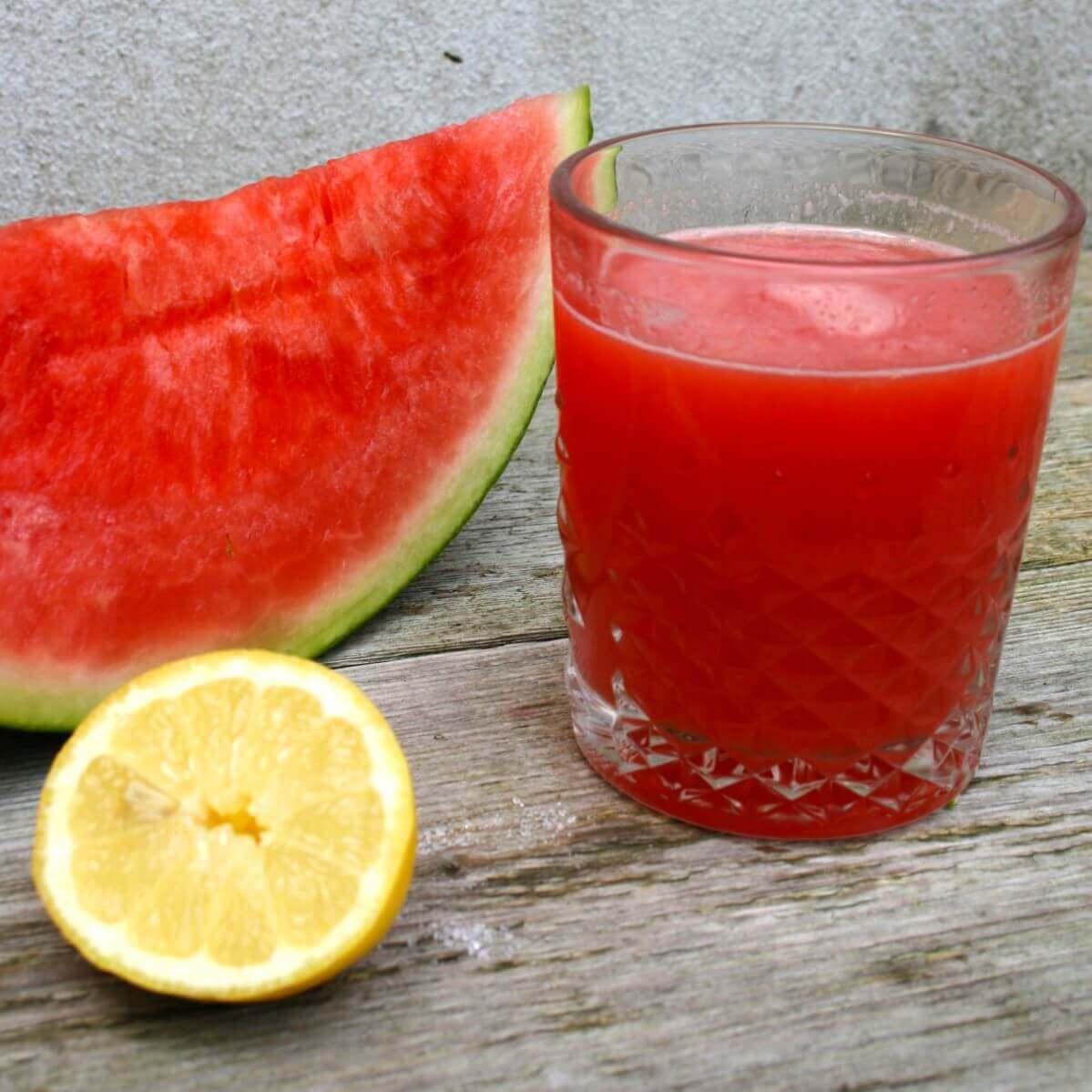 Dag 6 meloen citroen juice BW vierkant