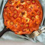 Witte bonen gnocchi bake met tomaten-paprikasaus