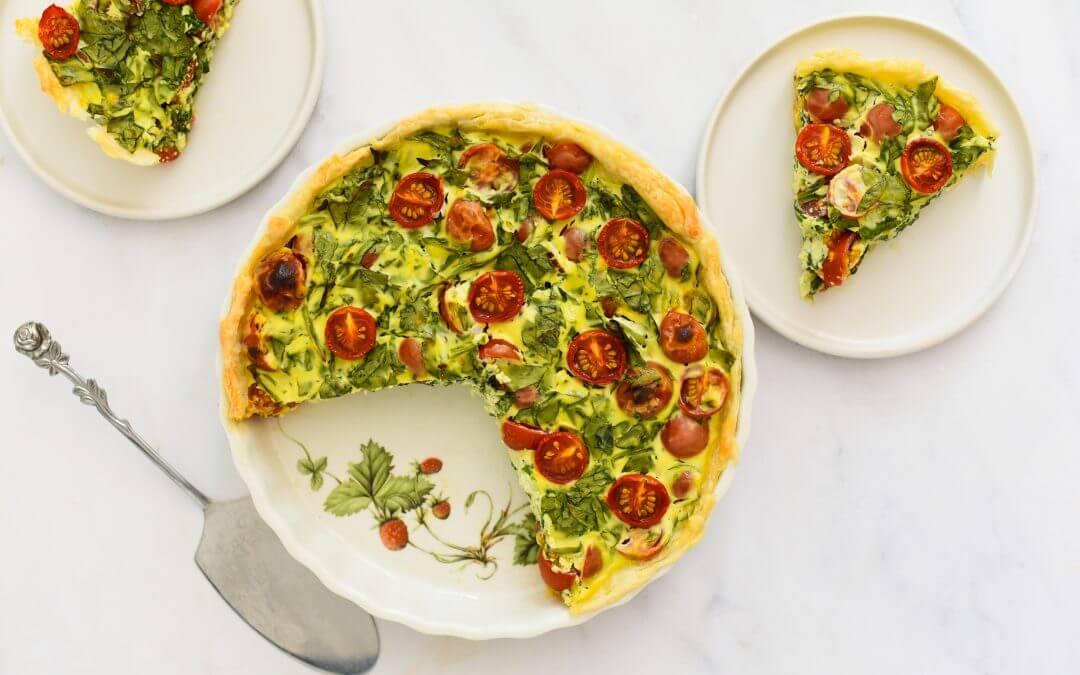 Tomaten-ricottataart