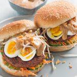 Leuke Recepten: gado gado burger