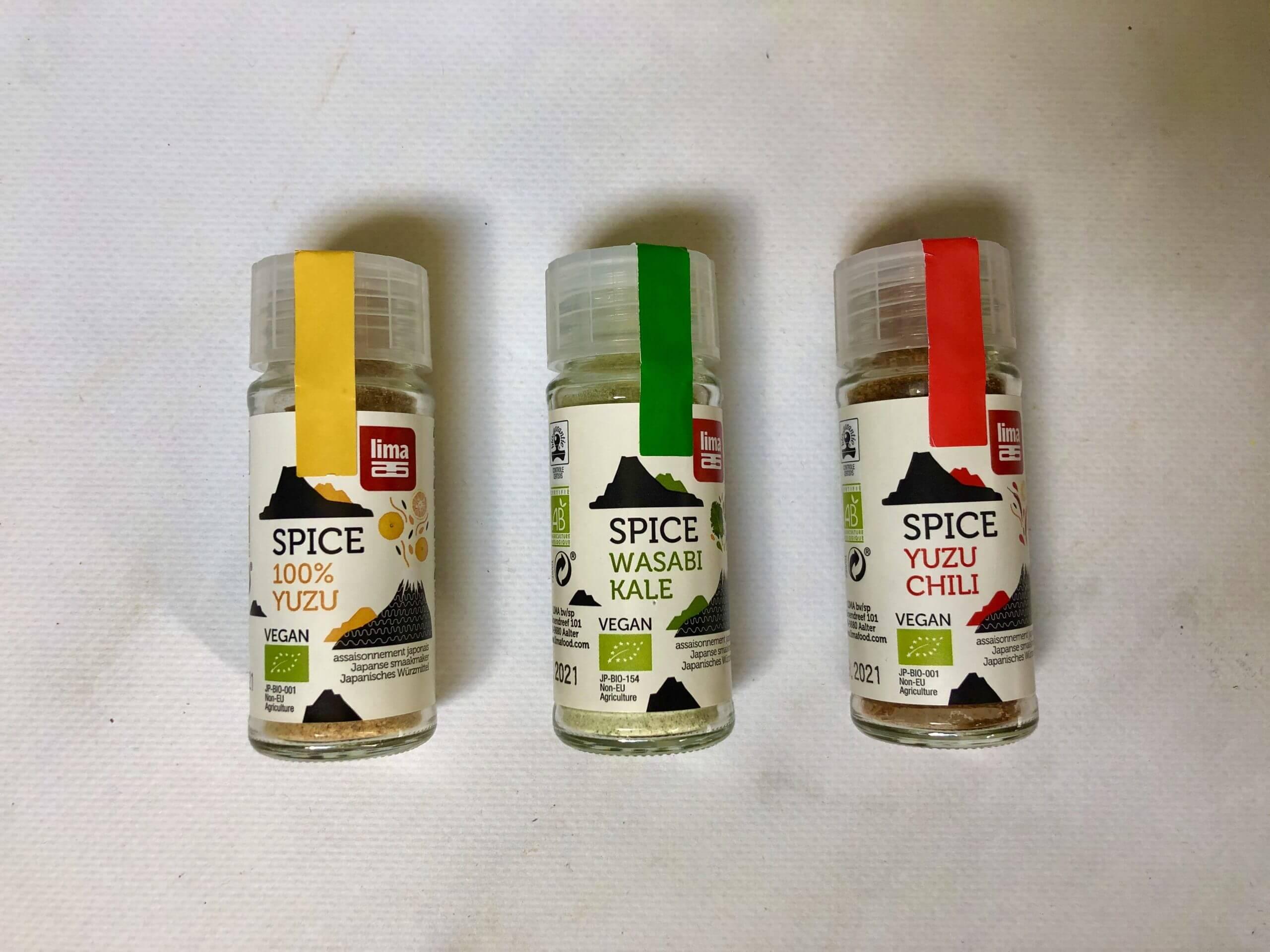 product Lima Food Bio spice mixes