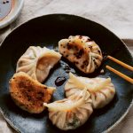 Dumplings & Noedels: zoete aardappel jiaozi
