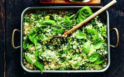 Everyday Fresh: super groene gebakken risotto