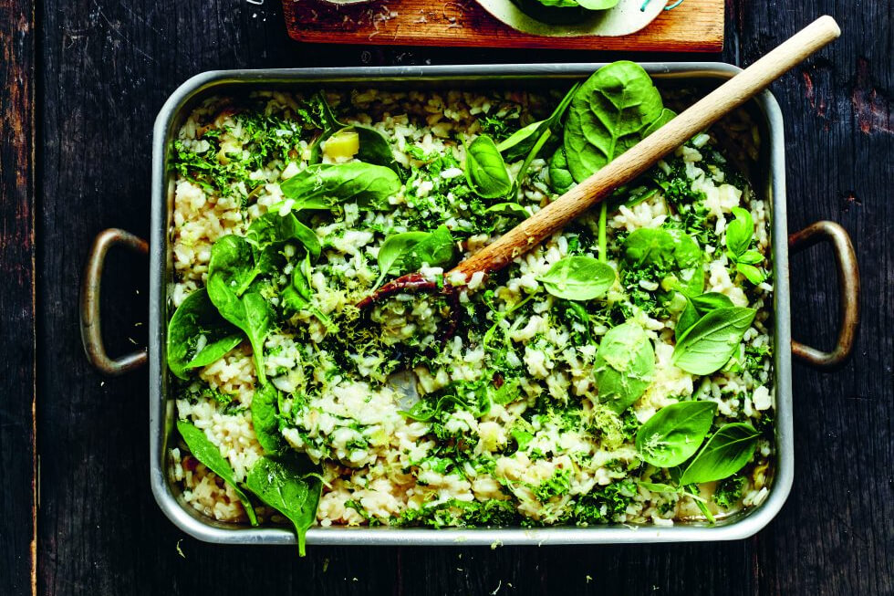Everyday Fresh: super groene gebakken risotto