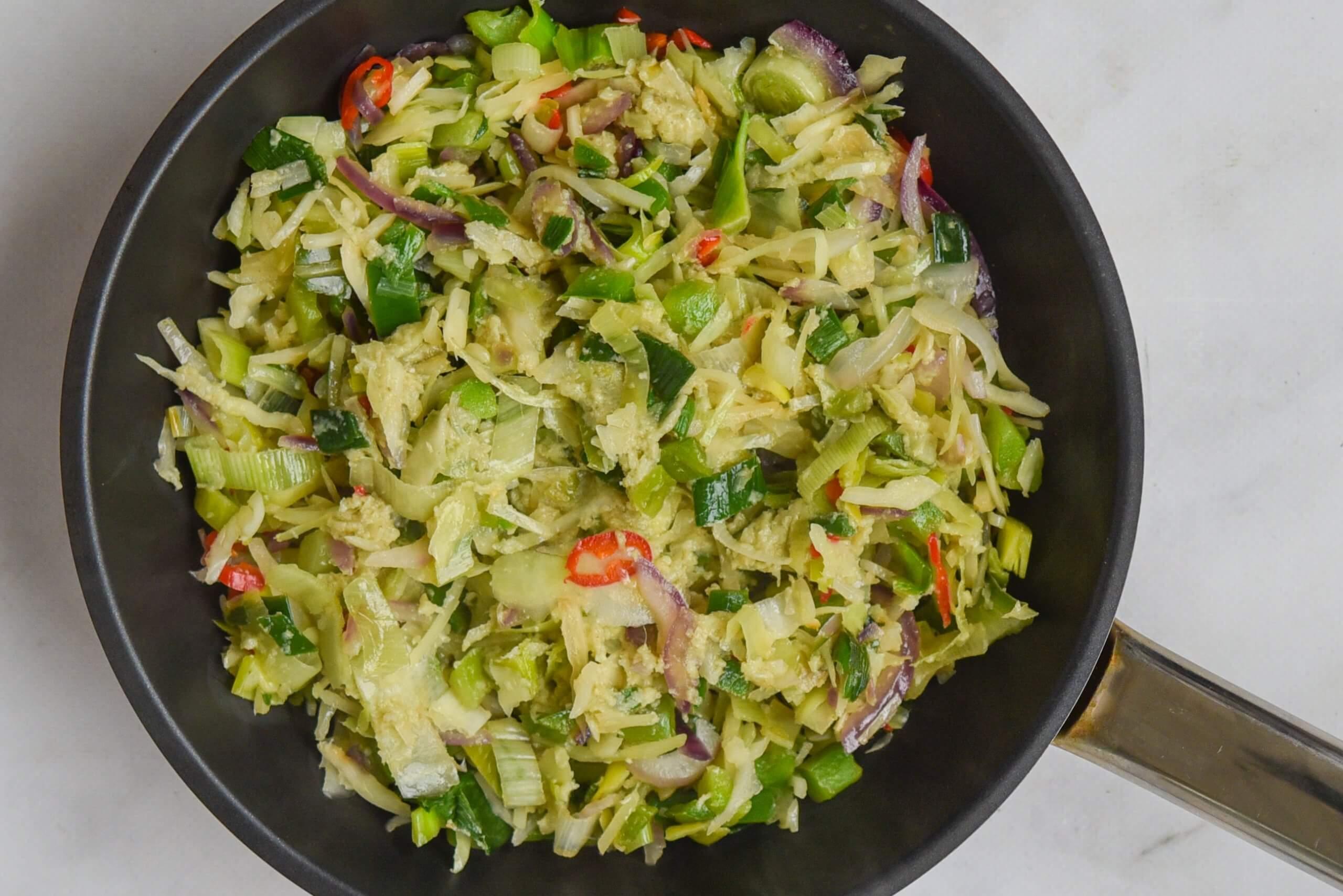 groentehack wokgroente - liggend