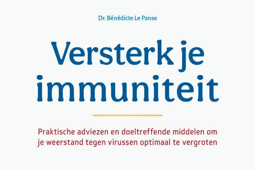 REVIEW: Versterk je immuniteit van Dr. Bénédicte Le Panse