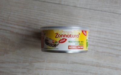 Vleesvervanger getest: Vegetarische paté van Zonnatura
