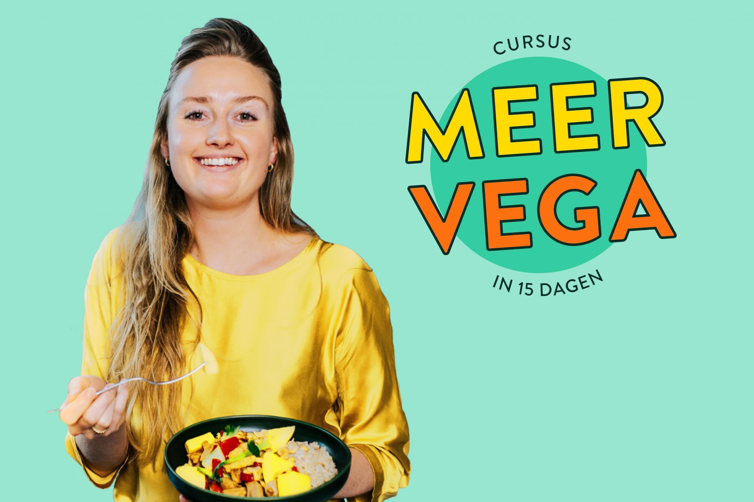 NIEUW: Cursus MEER VEGA in 15 dagen met De Hippe Vegetariër
