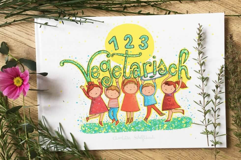 REVIEW: 1 2 3 Vegetarisch van Charlotte Schelfthout