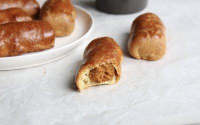 Vegetarisch paasmenu: mini worstenbroodjes