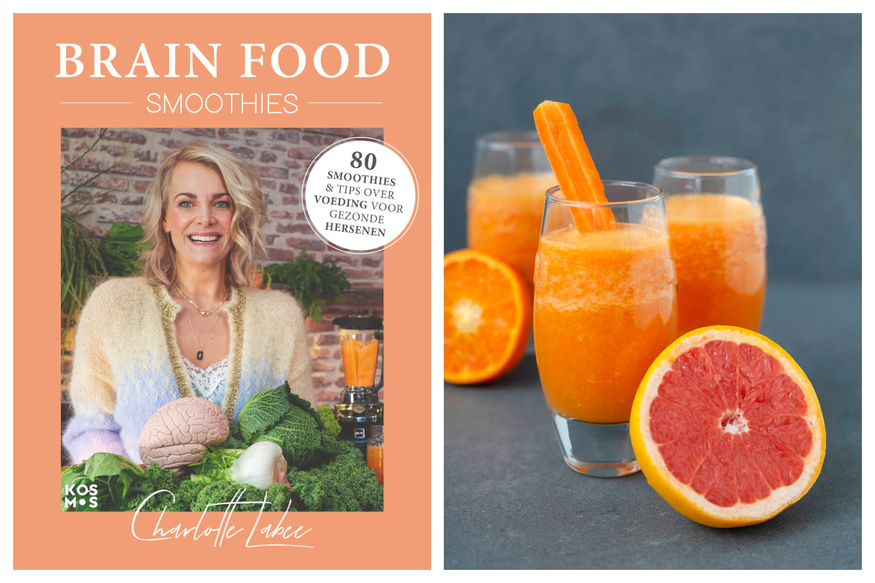 Brain Food Smoothies: Orange Smoothie