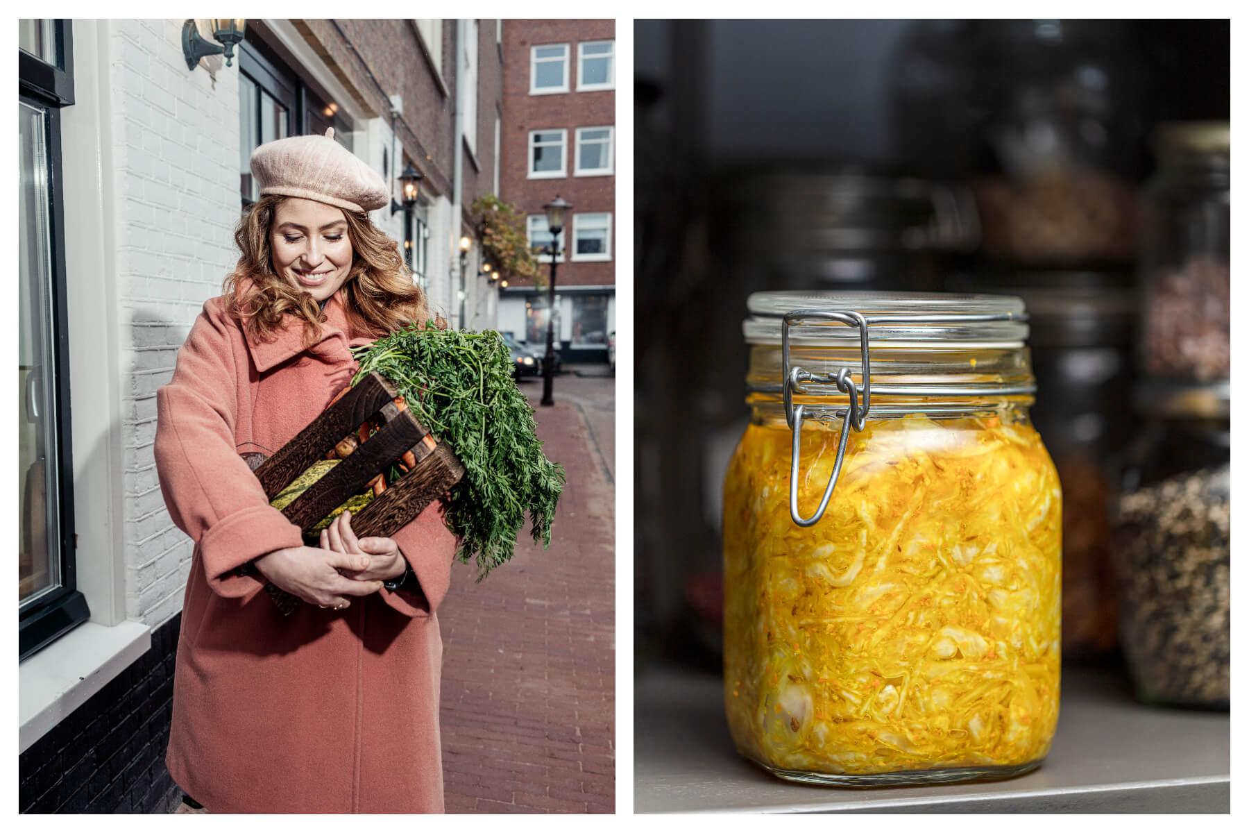 De vier seizoenen van Vogel: Golden kimchi