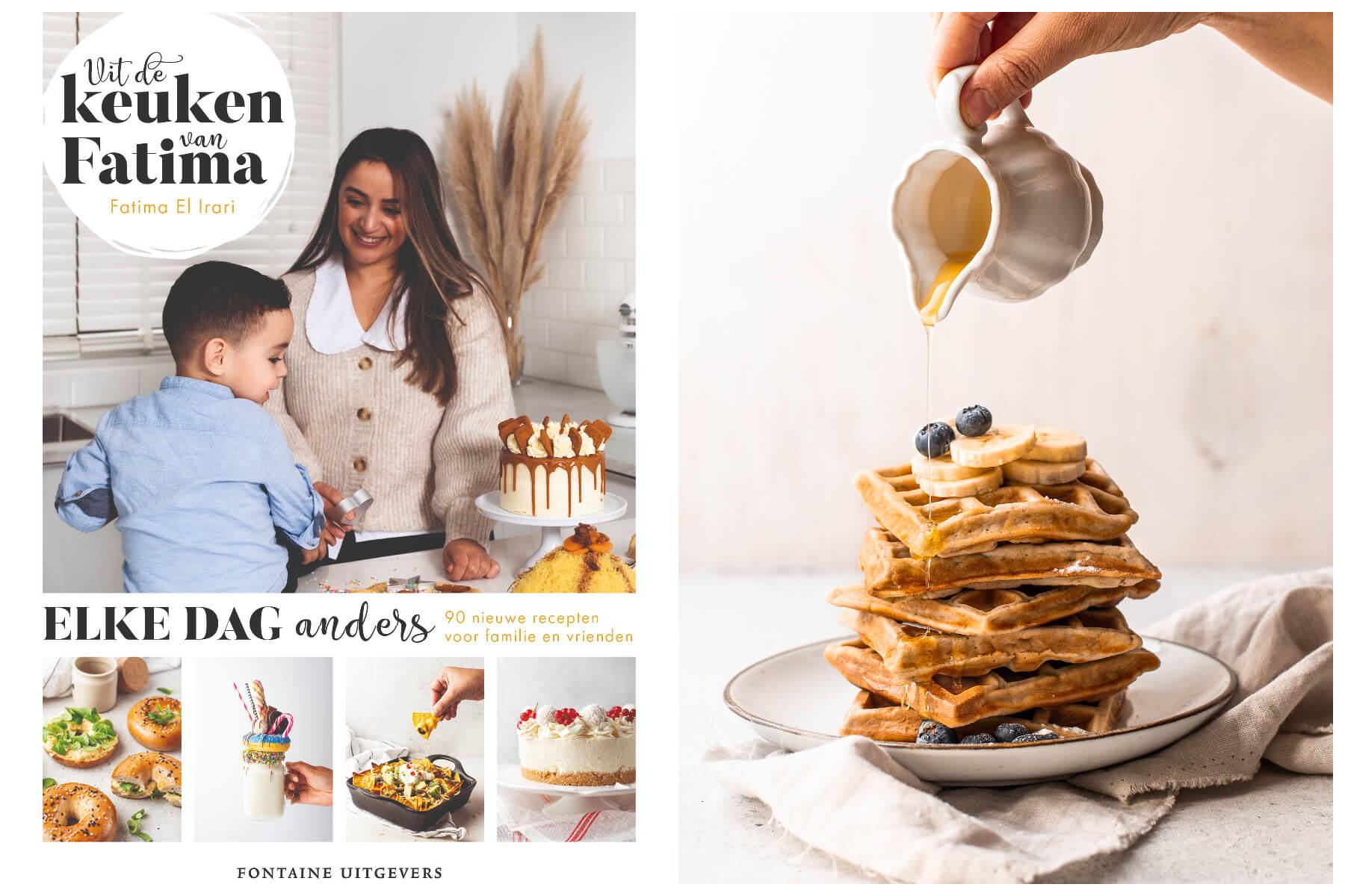 Banana wafels | Kookboek recept
