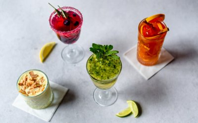 4 alcoholvrije cocktails om het weekend mee in te luiden
