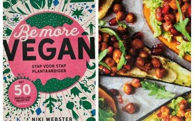 Be more vegan: Zoete-aardappel- en auberginetoast met avocadospread & harrisa