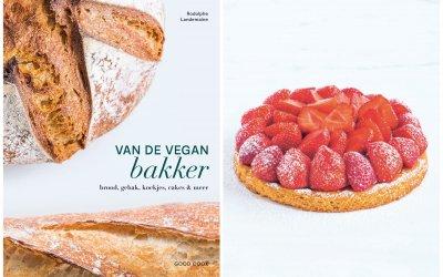 Van de vegan bakker: Aardbeientaart