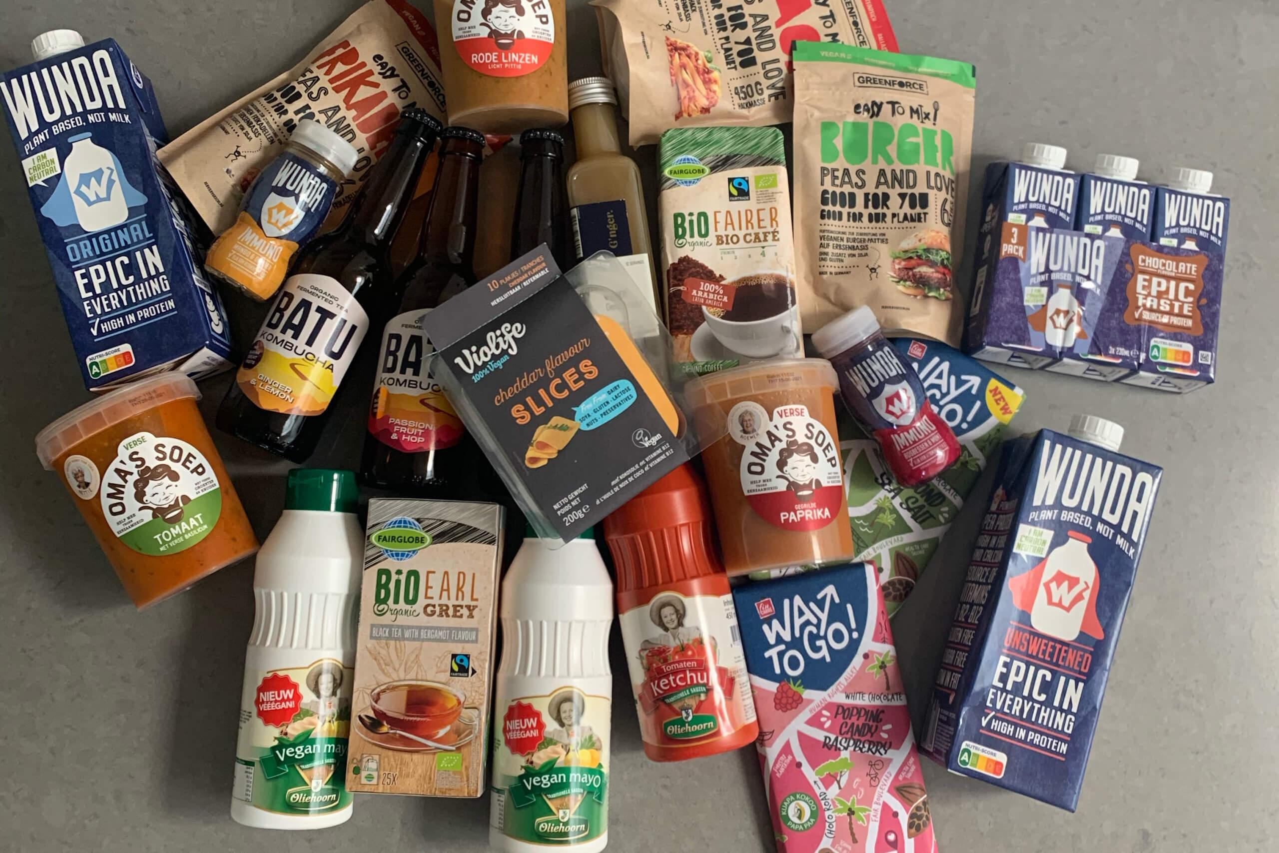 Nieuwe vegetarische producten #89