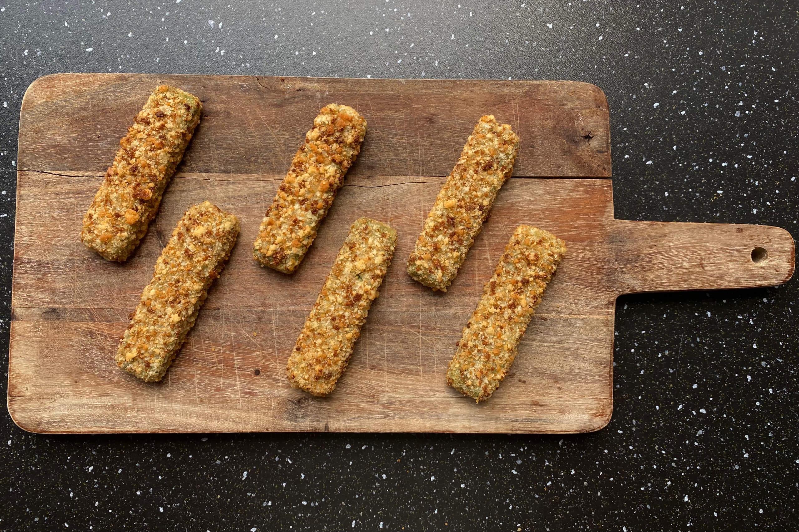 Vleesvervanger getest: Iglo Green Cuisine spinazie sticks