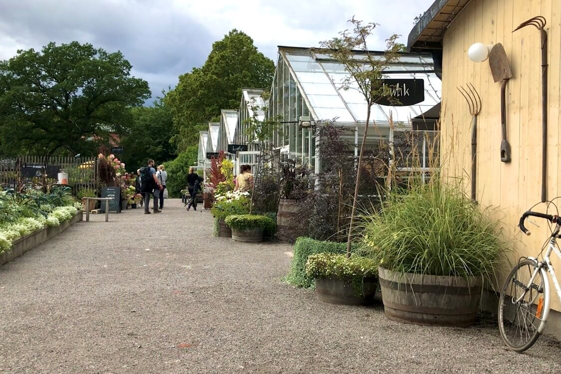 Hotspot in Stockholm, Zweden: Rosendals Trädgård