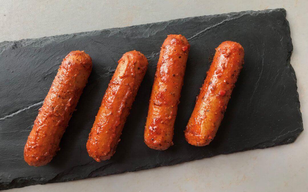Vleesvervanger getest: Jumbo Vegetarische Worstjes Portugese Stijl