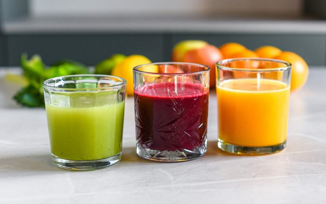 3 x gezonde groente- en fruitsapjes