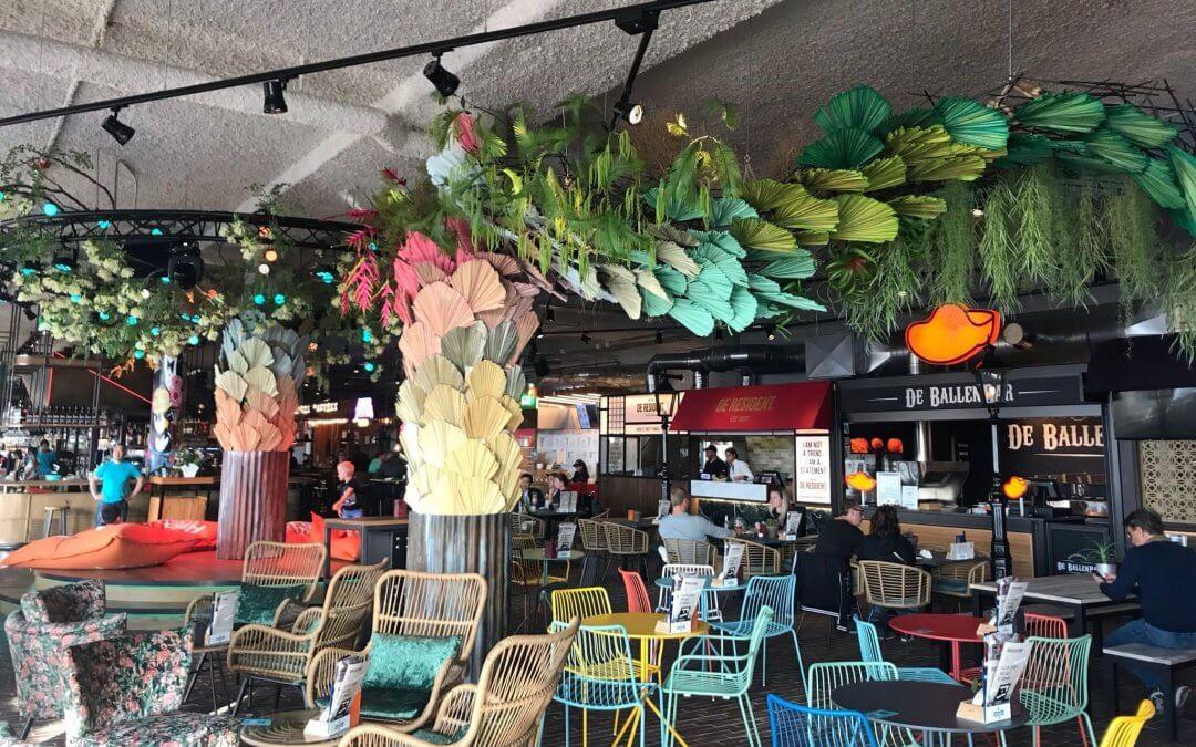 Foodhall Scheveningen: een internationale 'markt' vol sfeer